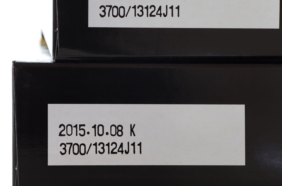 expiration date on black box