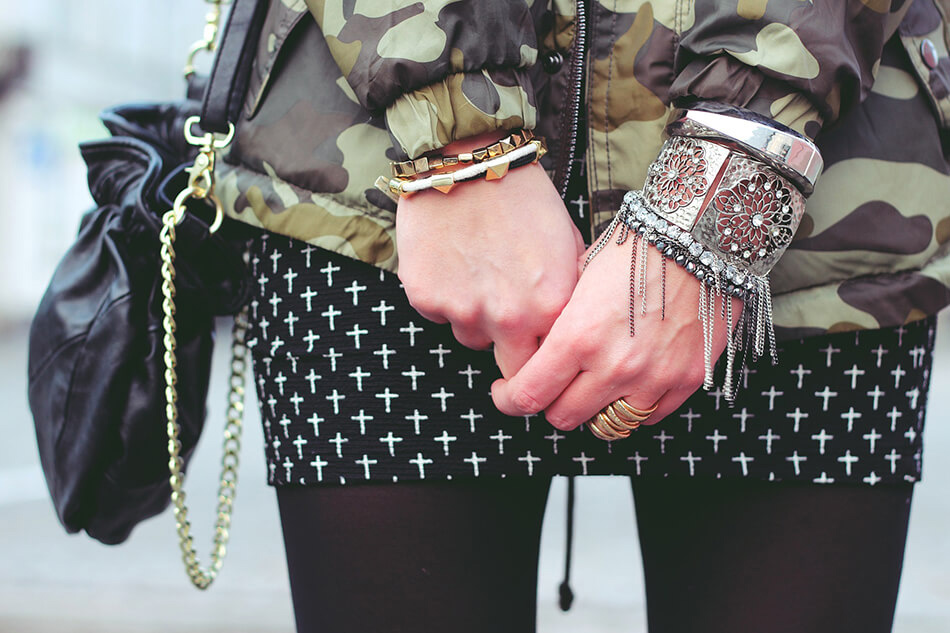 layering bracelets to update your style