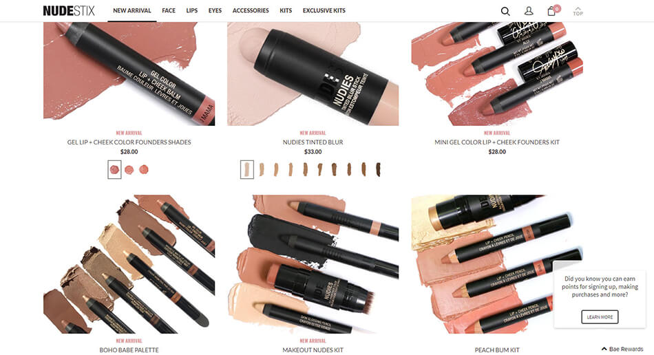 Nudestix 3-in-1 colour makeup-sticks for all skin tones