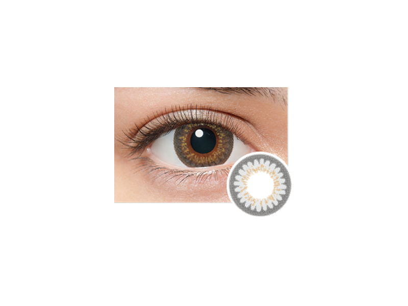 LILMOON Monthly Milky Gray (1 lens per box)