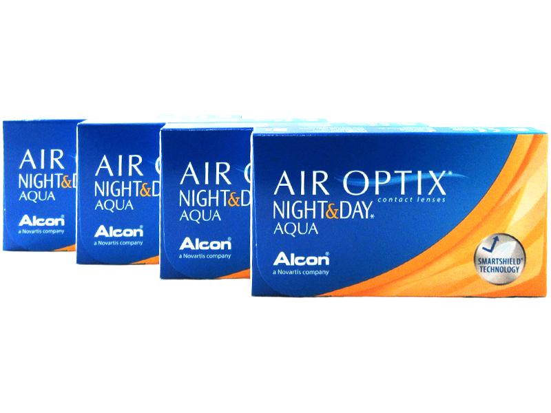 air optix night day aqua 4 box pack 12 pairs for less. Black Bedroom Furniture Sets. Home Design Ideas