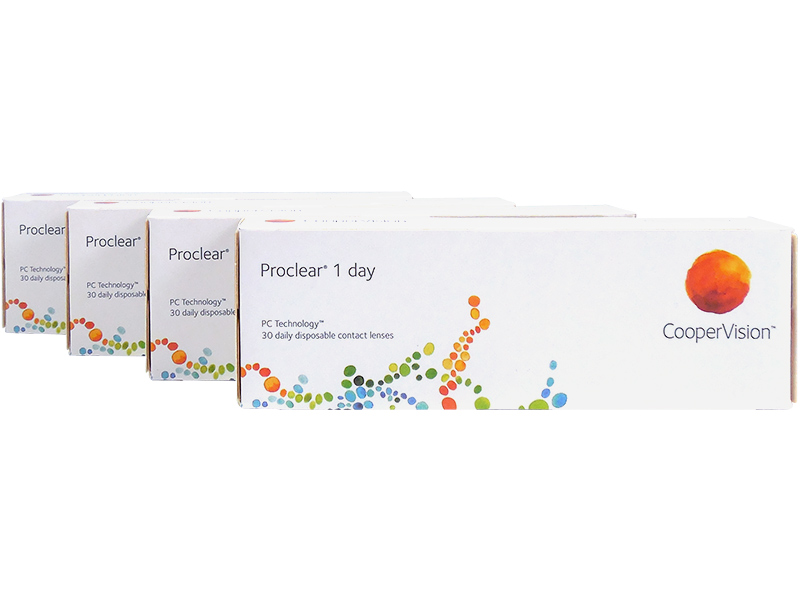 Proclear 1 Day 4-Box Pack (60 Pairs)