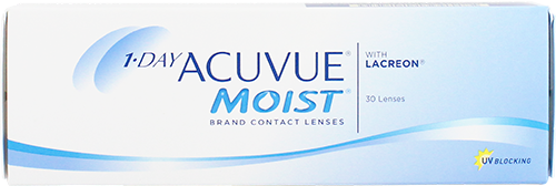 1 Day Acuvue Moist Daily Contact Lenses
