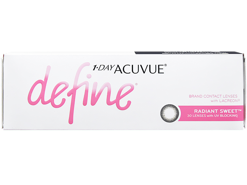 1 Day Acuvue Define Radiant Sweet with LACREON