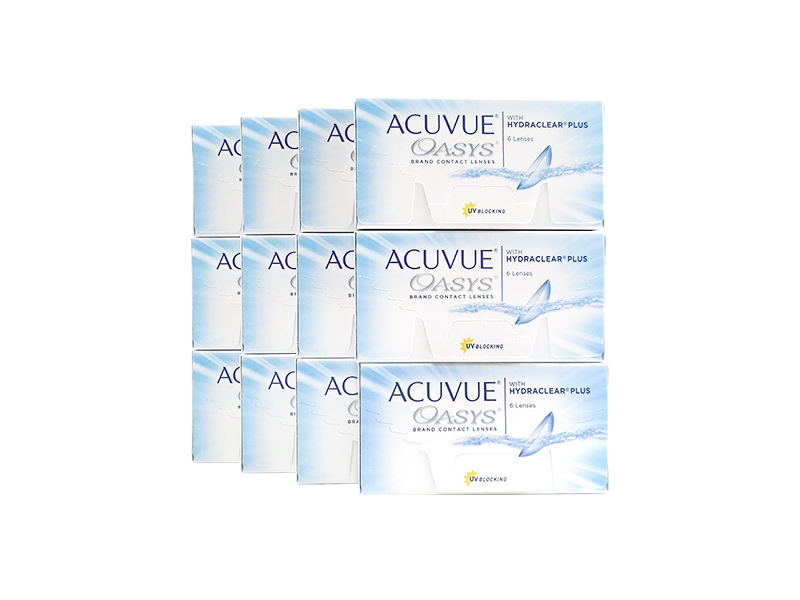 Acuvue Oasys 12-Box Pack (36 Pairs)
