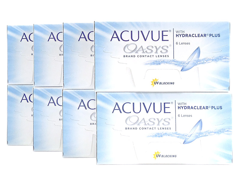 Acuvue Oasys 8-Box Pack (24 Pairs)