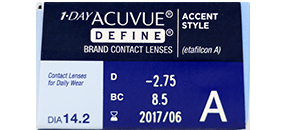 1 Day Acuvue Define (Accent Style)