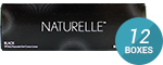 NATURELLE PUREBLACK 12-Box Pack (180 Pairs)