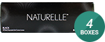 NATURELLE PUREBLACK 4-Box Pack (60 Pairs)