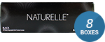 NATURELLE PUREBLACK 8-Box Pack (120 Pairs)