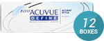 1 Day Acuvue Define (Accent Style)  12-Box Pack (180 Pairs)