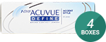 1 Day Acuvue Define (Accent Style) 4-Box Pack (60 Pairs)