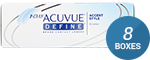 1 Day Acuvue Define (Accent Style) 8-Box Pack (120 Pairs)