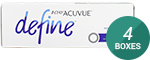1 Day Acuvue Define Accent Style with LACREON 4-Box Pack (60 Pairs)
