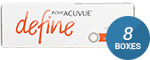 1 Day Acuvue Define Natural Shine with LACREON 8-Box Pack (120 Pairs)