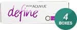 1 Day Acuvue Define Vivid Style with LACREON 4-Box Pack (60 Pairs)