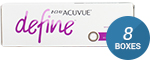 1 Day Acuvue Define Vivid Style with LACREON 8-Box Pack (120 Pairs)