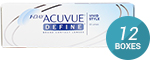 1 Day Acuvue Define (Vivid Style) 12-Box Pack (180 Pairs)