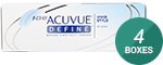 1 Day Acuvue Define (Vivid Style) 4-Box Pack (60 Pairs)