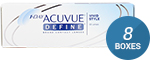1 Day Acuvue Define (Vivid Style) 8-Box Pack (120 Pairs)