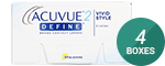 2-Week Acuvue Define 4-Box Pack (12 Pairs)