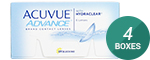 Acuvue Advance 4-Box Pack (12 Pairs)